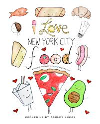 Small Picture New York City Food Coloring Book PDF I Love New York City