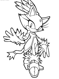 Free Coloring Pages Of Sonic Printable High Quality Coloring Pages