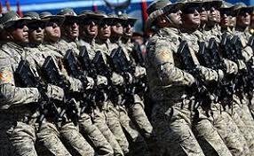 Национальная армия Азербайджана Википедия Военнослужащие Национальной армии Азербайджана во время военного парада в ознаменование 70 летия Победы в Великой Отечественной войне 1941 1945 годов