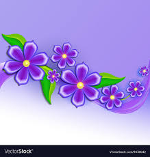 Design Paper Background Flower Background With Beautiful Paper Cut Flowers