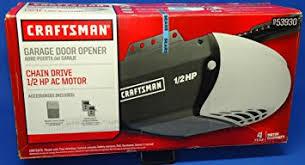 1 hp garage door openerCRAFTSMAN 53930 CM GARAGE OPENER 12 HP  Sears Garage Door