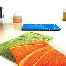 orange bath rugs chic and creative orange bath rug set best sign interior burnt sets 3