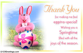 Thank You Easter Eggs Tra Special Thank You Free Thank You Ecards Greeting