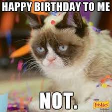 grumpy cat i had a birthday once. Exellent Grumpy Today April 4th Is International Grumpy Cat Day To Mark Catu0027s 1st  Birthday With I Had A Birthday Once P