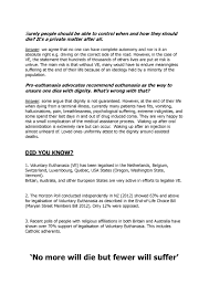 Pro Euthanasia Essay Euthanasia Essay Homework Sample