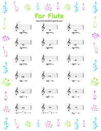 Flute Fingering Chart Pdf Abundant Flute Fingering Chart