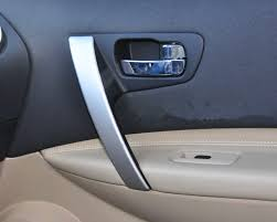 interior door handles decorative cover plates for nissan qashqai 2008 2009 2010 2011 2012 2018