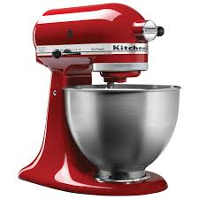kitchenaid ultra power stand mixer 4 5qt 300 watt empire red stand mixers best canada
