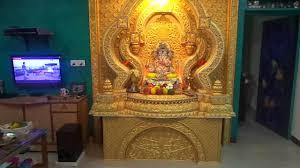 ganpati decoration ramchandra mhatre 2014 youtube
