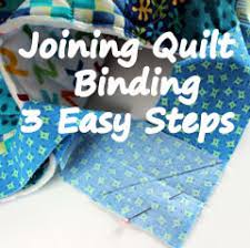 Joining Quilt Binding in 3 Easy Steps &  Adamdwight.com