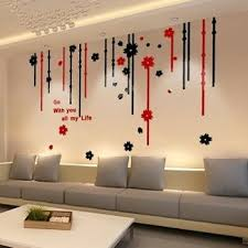 3d wall decor stickers get ations a free home decor high quality wall stickers flower crystal acrylic wall stickers living room home decor 3d
