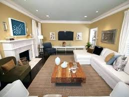 Furniture Placement In Rectangular Living Room Setup For Dining Sets Ideas