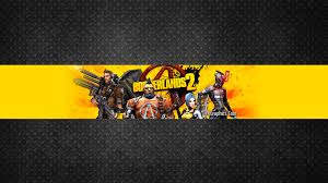 youtube channel banners borderlands 2 channel art banner youtube channel art banners