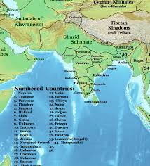 the changing map of india from 1 ad to the 20th century India Map Before 1600 India Map Before 1600 #26 india map before 1600