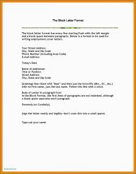 Semi Block Format Letter Indented Style Modified Cover Business