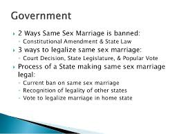 same sex marriage  marriage on the state level 10  2 ways same sex