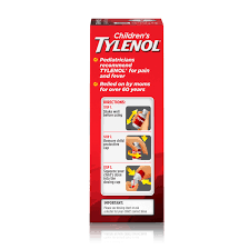 Childrens Tylenol Pain Fever Relief Medicine Cherry 4