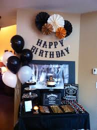 jack daniels theme for dad s surprise 60th bday party whiskey
