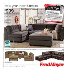 Fred Meyer Furniture Ad January 1 7 2017 atalog