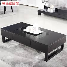 Small-apartment-IKEA-coffee-table-TV-cabinet-matching-