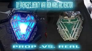 Iron Man Chest Light Diy Diy Avengers Infinity War Iron Man Arc Reactor
