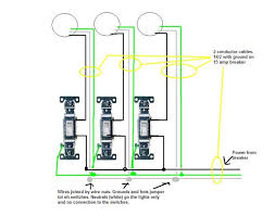 two gang switch wiring diagram wiring diagram how to wire a 2 gang light switch all about wiring diagram