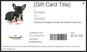 Dog Gift Certificate Template Free Qewl