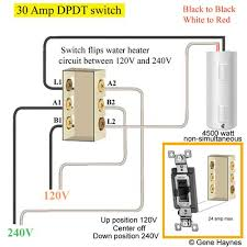 how to wire switches How To Wire A Double Pole Double Throw Switch 30 amp dpdt switch wire double pole single throw switch