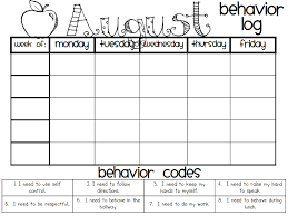Behavior Log Pdf Google Drive Behavior Log Student
