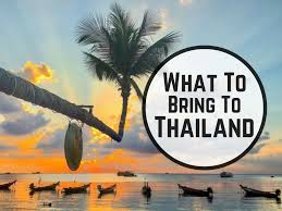 list for traveling what to pack for thailand packing list with 40 things to