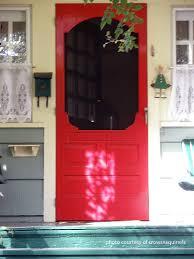 wooden screen door wood screen door