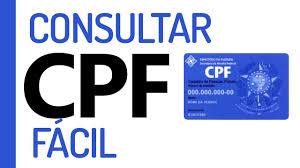 o consultar cpf grÁtis