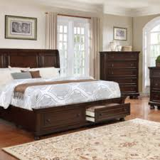 6PC QUEEN SIZE CHERRY BEDROOM SET
