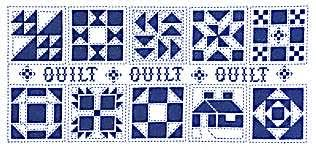 Heart and Home Quilt Blocks - cross stitch pattern by Jeremiah ... & cross stitch chart/pattern/leaflet. Quilt, Quilt, Quilt Adamdwight.com