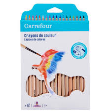Crayons De Couleurs Aquarellable X18 Carrefour Carrefour Les 18 Crayon De Couleur Aquarellable Carrefour L