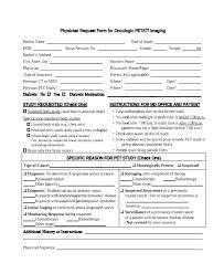 Referral Form Template Word Patient Form Template Sample New Referral Medical Request Free