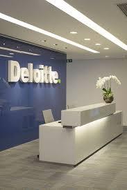 Image School Deloitte Office Reception Looks Great office design moderndesign Httpwww Pinterest Edson7311 Office Office Reception Office Interiors Office