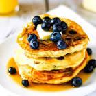 blueberry orange pancakes
