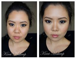 how to contour flat nose