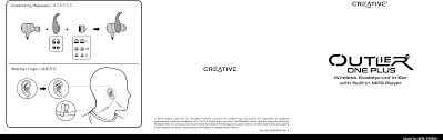EF0800 <b>Creative Outlier One Plus</b> User Manual Creative Labs Pte. .