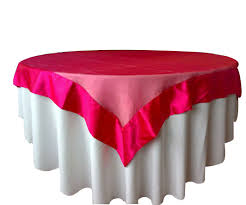 beautiful round tablecloths for your dining table decor idea pink with white round tablecloths for