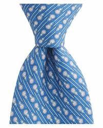 Vineyard Vines Boys Lacrosse Silk Tie Hand Made Royal Blue