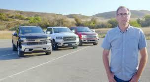 Pickup Truck Comparison Test: 2019 Ram 1500 vs. Chevy Silverado vs ...