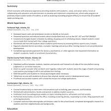 Excellent Resume For School Counselor Ideas Entry Level Resume