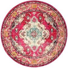 9 round area rug pink multi 9 ft x 9 ft round area rug 9x12 area