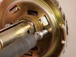 How To how to fix a door knob latch pics : How to Change a Doorknob | how-tos | DIY