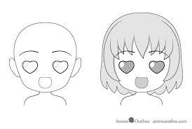 anime love chibi. Modren Chibi Anime Chibi Love Facial Expression Drawing U201c Throughout Love Chibi I