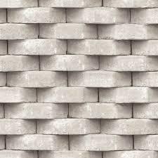 Muriva 3D Brick Effect Wallpaper ...