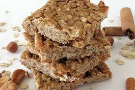 peanut er and honey oat bars