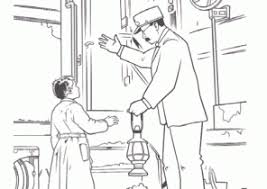 Small Picture Polar Express Coloring Pages Coloring4Freecom